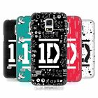 OFFICIAL ONE DIRECTION BAR FORM LOGO DESIGNS CASE FOR SAMSUNG GALAXY S5 MINI
