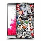 OFFICIAL ONE DIRECTION LOCKER ART GROUP HARD BACK CASE FOR LG G3