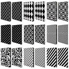 HEAD CASE DESIGNS BNW PATTERNS LEATHER BOOK WALLET CASE FOR APPLE iPAD AIR 2