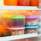 Plastic Kitchen Container Fresh Fruit Food Snacks Storage Sauce Box Food Case JR