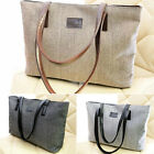 Portable Big Capacity Fashion Ladies Canvas Bag Handbag Shoulder Bag 3 Colors
