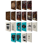 HEAD CASE DESIGNS COFFEE ADDICTS LEATHER BOOK WALLET CASE FOR APPLE iPAD AIR 2