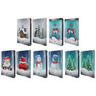 HEAD CASE DESIGNS CHRISTMAS IN JARS LEATHER BOOK CASE FOR APPLE iPAD AIR 2