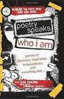 POETRY SPEAKS, WHO I AM - NEW HARDCOVER BOOK WITH CD