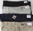 Roundtree & Yorke Easy Care Flat Front Expander Waist Dress Pants  NWT 4 Colors