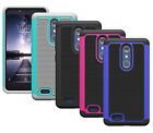 For ZTE ZMax Pro Z981 Case ShockProof Dual Layer Armor Protective Phone Cover