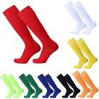 FOOTBALL PLAIN SOCKS SOCKS HOCKEY SOCCER LEG SUPPORT TUBE SOCKS MENS WOMENS KIDS