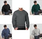 MEN'S PREMIUM MID-WEIGHT CREWNECK SWEATSHIRT, 10 COLORS! S - 6XL, TALL LT - 6XLT