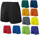 LADIES MOISTURE WICKING, INNER BRIEF, PINHOLE MESH SHORTS, SOLID, S M L XL 2X 3X