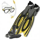 Cressi Set Frog Plus Giallo 01IT