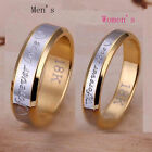 Womens Mens Forever Love Steel Couple Rings Size 6-10 Mordern Fashion Good