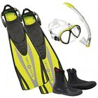 Aqualung Set Express Adj Lime 08FR