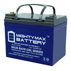 Mighty Max 12V 35AH GEL Battery Replacement for Kubota G5200