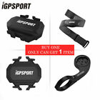 IGPSPORT ANT+Cycle Computer Cadence sensor Heart Rate Monitor Computer Bracket