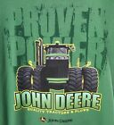 1300-1225GR John Deere *Proven Power* Green Mens T-Shirt