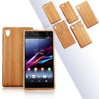 Real Natural Wooden Bamboo Wood Case Cover For Sony Xperia Z1 Z3 Z2 Z1miniZ3mini