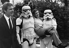 CARRIE FISHER 14 WITH HARRISON FORD (PRINCESS LEILA STAR WARS) CAST PHOTO PRINT