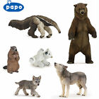 PAPO Wild Animal Kingdom AMERICAS - Choice of 36 animals inc Wolves with Tags