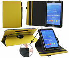 Universal (7-8 Inch) 360 Rotating Padded Tablet Stand Folio Wallet case cover