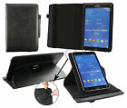 """Universal (7 - 8"""") 360 Degree Rotating Wallet Case fits Thomson Touchlet & more"""