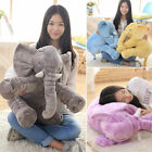 Kids Baby Children Long Nose Elephant Doll Pillow Plush Stuff Toys Lumbar Pillow