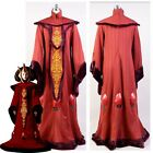 Star Wars The Phantom Menace Padme Amidala Queen Dress Halloween Cosplay Costume $125.4 AUD