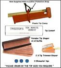 CUE TIPPING CLAMP. EVERYTHING REQUIRED FOR TIPPING YOUR CUE. 6 PIECE KIT