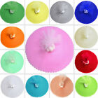 "TULLE WRAPPERS CIRCLES 9"" DIY Crafts Sewing Wedding Party Favors Decorations"