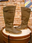 Bare Traps Tommy Taupe Wide Calf Buckle Detail Riding Boot NEW