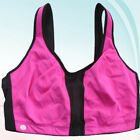 Plus size pink/black wirefree convertible sports bra various size available