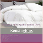 Luxurious Hungarian Natural Feather Double Bed Duvet Quilt Feels Like Down