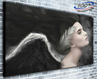 Angel Crying Panoramic Canvas Print Modern Art 4 Sizes to Choose Ready to Hang