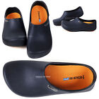 Men Chef Shoes Clog Kitchen Nonslip Safety shoes Oil and Water even on safety