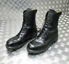 Genuine British Army, Black Leather Combat /  S8 Assault Boots SIZE 11M USED