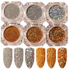 BORN PRETTY Nail Glitter Sequins Paillette Powder Holographic Laser Nail Art