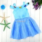 Kid Princess Dress Baby Toddler Girls Clothes Sleeveless Off-shoulder Tutu Dress