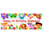 baby tv birthday - Baby First TV Birthday Banner Personalized Party Backdrop 60×24