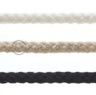 6mm Round Cotton Braided Sash Cord Draw Piping Craft Upholstrey Rope Pulley