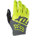 2017 Fox MX Mens Dirtpaw Race Gloves - Yellow Motocross Offroad Trail Enduro