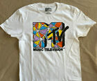 New MTV Music Television men's sizes Rock  S-3XL T-shirt Original 80's Style image