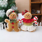 Christmas Gingerbread man Ornaments Festival Xmas Tree Hanging Decor Marked JR
