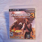 sony playstaion 3 ps3 uncharted 3 drake's deception complete tested!