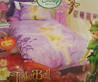 Disney Tinkerbell Fairy Lost Teasure Single or Double Quilt Duvet Cover Set
