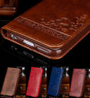 Luxury Wallet Case For iPhone X 6s 7 8 Plus 5s SE Leather Cover Pouch Stand Flip
