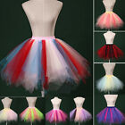 Tutu Fluffy Party Skirt Adult Princess Ballet Pettiskirt Women's Dancewear