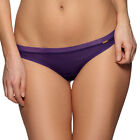 Gossard Glossies Sheer Mesh See Through Thong Panty 6276 Fashion Deep Purple