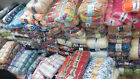 new stocklot job lot mixed lot of hand knitting wool (12kg) 120 balls or more
