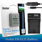 EN-EL14a Battery / Charger Kit for Nikon D5600 D5500 D5300 D5200 D3400 D3300