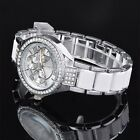 Fashion Luxury Women Watch Stainless Steel Quartz Analog Wrist Watch