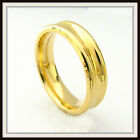 10 KT SOLID YELLOW GOLD CUSTOM MADE WEDDING BAND FOR MEN AND LADIES DT 0017